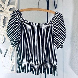 H&M Off Shoulder Blouse Size XL